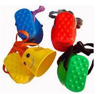 Wholesale Outdoor Sports Toys Smiley Face Stilts Sensory Integration Kindergarten Balance Training