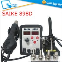 Cheap Free Shipping SAIKE 898D Hot Air Rework Station BGA Desoldering Reballing