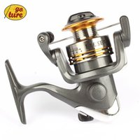 Wholesale Goture Small Metal Spinning fishing reel BF200 BB feeder and carp fishing wheel fishing gear Pesca