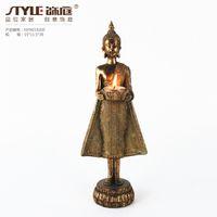 buddha statues - Southeast Asian style ornaments large statues candlesticks home decorative handicrafts Thai Thai Restaurant Buddha statues