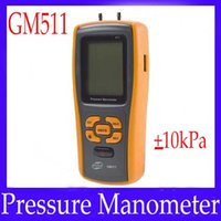 Wholesale Digital differential manometer GM511 Negative overload Alarm