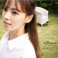 Wholesale 8 Hot Women outstanding earrings Korea Simple Elegant Style Jewellery Pearl U Design Ear Clip Ear Bone On Earring Jewelry