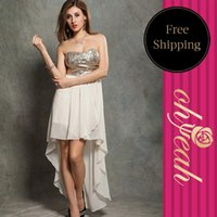 Wholesale And Retail Women Dresses Long Skirt Sequined Tops For Women Summer Prom Dress R76582