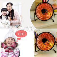 Wholesale Hot Pink Black Warm Fan Electric Heater Sun Heated Winter Household Item Quartz Tube Heating Degree Rotatable Head Design