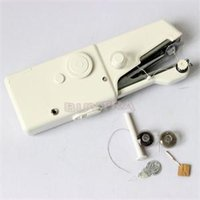 Wholesale 2014 New FA Practical Mini Sewing Supplies Popular Sewing Machine Multi Function Clothes Sewing Machine AF