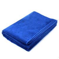 Wholesale 30cmx70cm Microfiber Car Cleaning Towel Microfibre Detailing Polishing Scrubing Waxing Cloth Hand Towel