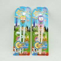 bamboo animations - Korean Animation Pororo Petty Crong Edison Training Chopsticks Kids Right Left