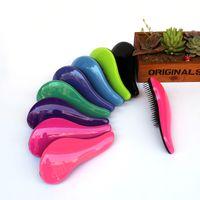 Wholesale Magic Detangling Handle Hair Brush Comb Salon Styling Tool Tangle Shower Hair Comb TT Hair Brush