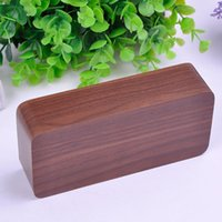 Wholesale 2015 New Arrival Hot Sales Modern Rectangle Wooden Bamboo Digital Single Face Thermometer Alarm Clock X60 DA1611W M2