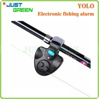 Wholesale Universal Fishing Alarm Electronic Fish Bite Alarm Finder Sound Alert Running LED Clip On Fishing Rod