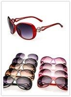 Wholesale Hot Sale Women Sunglasses Personality Hinge Decorative UV protection Brand Sunglasses Designer sunglasses Glasses Cheap Sun glasses