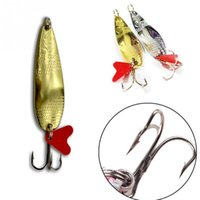 artificial pitches - 2 Color cm g Fish Shaped Sequin Style Sequins Interfax Pitching Bait Lure Fishing Baits Artificial Lure Fishing Tools