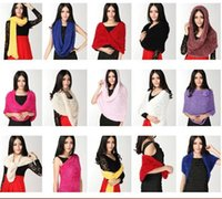 Wholesale 2015 Hot Sale Magic Scarf Diy Shawls Pashmina Multi Performance Scarves Colors In Stock good quality