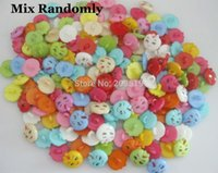 apple shape clothing - NB0107 cute buttons for kids clothes randomly mix shank apple shape plastic sewing button scrapbooking