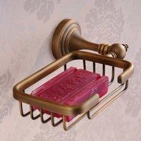 Wholesale Hot Antique soap net antique bathroom soap holder fashion antique bathroom accessories antique soap dish toilet HJ F