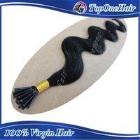 """Cheap 100g 18"""" 20"""" 22"""" 24"""" Keratin Stick I Tip Human Hair Extensions brazilian remy #1b #2 #4 #613 99j# burg# 33# 30#"""