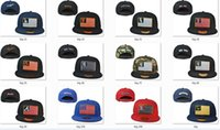 Wholesale New Caps Baseball Snapback Caps Flag Colors Hats Team Cap Mix Match Order All Caps in stock Top Quality Hat