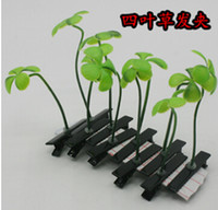 Wholesale Sell Meng artifact Funny pea plant small sprouts flower head grass sprouting grass hair accessories Issuer hair Clips