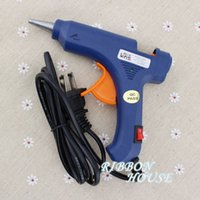 Wholesale High Temp Heater blue Hot Glue Gun W Handy Professional with Switch Sticks