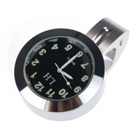 Wholesale Attractive Fashion Popular Motorcycle Accessory Handlebar Mount Clock Watch Waterproof AG11