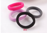 Wholesale Piece Women Fashion Daily Candy Color High Elastic Hair Rubber Bands Hair Jewelry