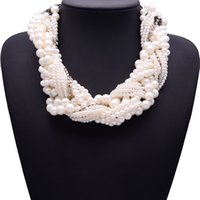 aura clothing - The new multi Pearl Pendant Chain Korean queen aura clavicle short necklace female clothing accessories