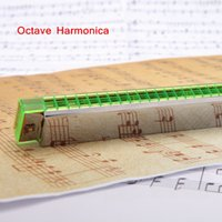 Wholesale Octave Harmonica Mouth Organ Holes Free Reed Wind Instrument Harmonica with Case New Arrival