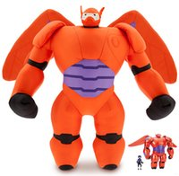 Wholesale New cm Big Hero Baymax Vinyl Action Figure Toy Ballon Man Dolls Good Birthday Gift For Kids