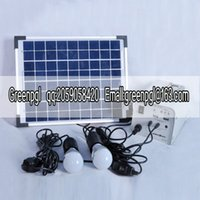 Wholesale 10W solar power system portable solar lighting box mobile solar power box