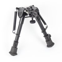Wholesale 6 inch Harris Style Tactical Bipod Levels Adjustable Spring extending Legs