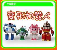 Wholesale Hot sale Korea anime Action figure Poly Transformation toy car robot educational learning baby toy cartoon figure cars So Cute