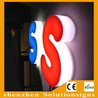 acrylic letters for signs - D led any color acrylic letters sign for shops