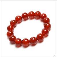 Wholesale Need for natural crystal red agate bracelet blood beauty couple bracelets jade bracelets