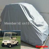 Wholesale High Quality Passenger Universal Golf Cart Kart Silver Cover For Yamaha EZGO Club Car EZ GO order lt no track