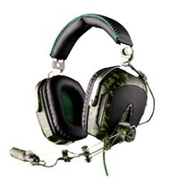 Wholesale SADES A90 USB Camouflage Color Stereo Gaming Headphone Headset Surrounding Sound Computer Game with Mic Light
