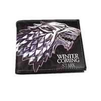 magic cards - Game of Thrones Stark Wallets Portafogli Men Money Clips Baelerry Mini Wallet Bailini Magic Wallet Billeteras Fashion Brand Wallet Free Ship
