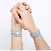 Wholesale Anti Nausea Wristbands Car Anti Nausea Sickness Reusable Motion Sea Sick Travel Wrist Bands