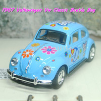 beetles love - Brand New Scale Pull Back Car Toys Peace Love Colored Version Volkswagen Classical Beetle Diecast Metal Car Model Toy