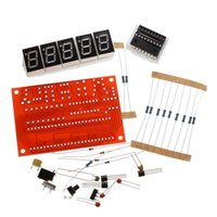 Wholesale 50MHz Crystal Oscillator Frequency Counter Meter Tester DIY Kit Digits Resolution
