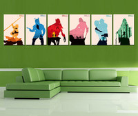 Wholesale HD Canvas Print home decor wall art painting No frame Star Wars I VI PC