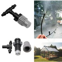 Wholesale Greenhouse Flower Plant Garden Misting Atomizing Sprinkler Nozzles Tee