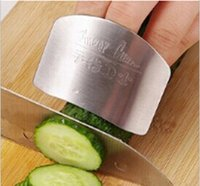 Wholesale Kitchen helper selling stainless steel kitchen gadgets finger guards protect the anti cut shredder Hand