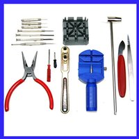 Wholesale 16 x Watch Battery Band Case Link Open Repair Tools Kit