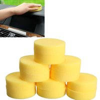 Wholesale 12pcs Polish Wax Pads Round Foam Sponges Applicator Pads for Clean Car Glass