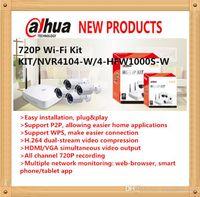 Wholesale DAHUA Beneficio NVR ch Smart U WIFI P2P NVR with Original English Firmware without Logo P Wi Fi quot KIT NVR4104 W HFW1000S W quot