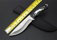aluminum steel corrosion - High Quality OEM AG01 Tactical Knife Cr13Mov Blade Aluminum Handle Hunting Fixed Knife Corrosion Camping EDC Tool Nylon Sheath