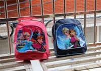 Wholesale Frozen bags school bag grils backpacks Childrens Bags kids backpack Child Backpack children bag school Children Bags frozen boys kids bags