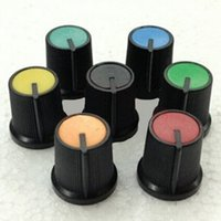 Wholesale 10 High Quality Plastic Rotary Switches Color Random mm Hole Rotary Switches Electrical Supplies