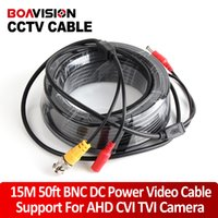 array power - 15M BNC Cable Video Output CCTV Cable BNC DC Plug Cable for Analog High Definition Array IR CCTV Camera Surveillance System