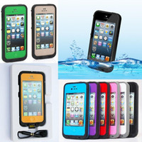 abs snow - Waterproof Shockproof Dirt Snow Proof Durable Dot Case Cover for Apple iPhone S